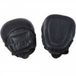 Essimo DDF Leather Focus Mitts - Black/Black