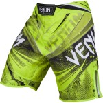 MMA Shorts Venum Galactic Fightshorts Neo Yellow