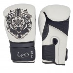 Leo Carbon Gloves - White/Black