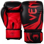Venum ''Challenger 3.0'' Boxing Gloves - Black/Red