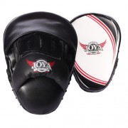 "Joya ""ProLine"" Coaching Mitts Leder - Wit/Zwart"