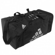 "Adidas ""Combat Sports"" Teambag Medium - Zwart/Zilver"