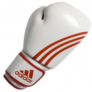 Adidas Boxfit Boxing Glove ''Climacool'' - White/Red