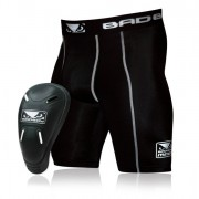 "Bad Boy ""Defender"" 2.0 Compression Shorts met Kruisbeschermer"