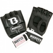 "Booster MMA Handschoen ""Cage"" Leather – Zwart"