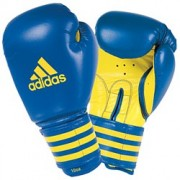 Adidas training boxing gloves - Blauw/Geel