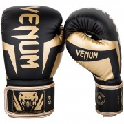 Venum Elite Boxing Gloves Black/Gold