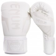 "Venum ""Elite"" Boxing Gloves – Wit/Wit"