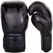 Venum Giant 3.0 Boxing Gloves Nappa Leather - Black/Black