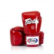 Fairtex Boxing Gloves leather Red