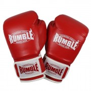 "Rumble ""Fighter"" bokshandschoenen – Rood/Wit"