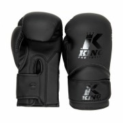 King Pro Boxing Gloves KIDS 3 - Black/Black