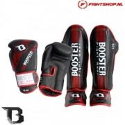 Booster Kickboksset Pro Range V3 - Black/Red