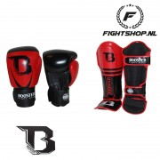Booster Pro siam Set - Black/Red