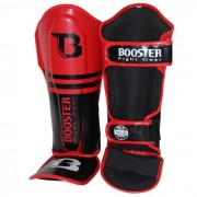 Booster Pro Siam shin instep black/red