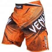 "Venum ""Galactic"" Fightshorts – Neo Orange"