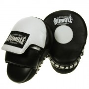 "Rumble ""Special"" Lederen Handpads Curved"