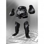 Joya ''Thailand'' Kickboxing Set - Black/White