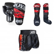 Joya (kick)boks Set - Red Camo