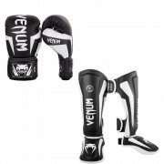Venum Elite Kickboksset – Black/White