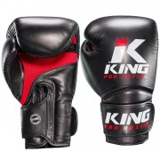 King Pro Boxing Gloves Star Mesh - Black