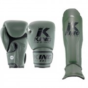 King Pro Boxing Set Star Mesh - Green