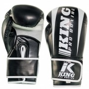 King Pro Boxing Gloves ''Revo'' - Black/White