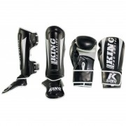 King Pro Boxing Set ''Revo'' - Black