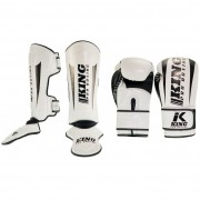King Pro Boxing Set ''Revo'' - White