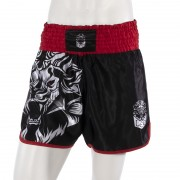 Leo INSTINCT Kickboxing Short - Black/Red