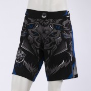 Leo Legend MMA Short - Black/Blue