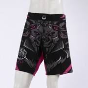 Leo Legend MMA Short - Black/Pink
