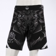 Leo Legend MMA Short - Black/White