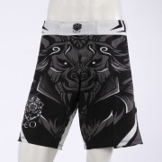 Leo Legend MMA Short - White/Black