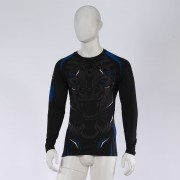 Leo ROAR Rashguard LS - Black/Blue