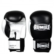 Rumble Ready (Kick)bokshandschoenen 2.0 black/white