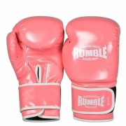 "Rumble ""Junior"" Bokshandschoenen PU – Roze"