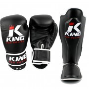 King Pro Boxing Set - Zwart