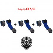 Leo Bandage Set 3 paar - Blue