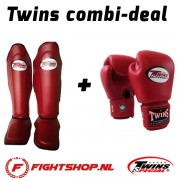 Twins (Kick)Boksset - Wine Red