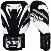 Venum Impact Boxing Gloves - Black/White