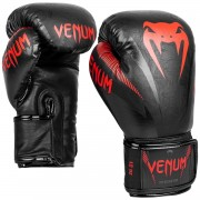 Venum Impact Gloves - Black/Red