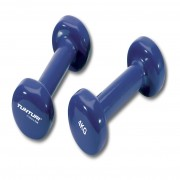 Tunturi Vinyl Dumbbells Pair 4.0kg, Blue