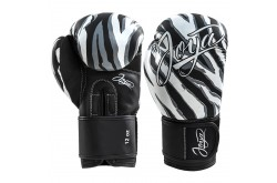 Joya Woman (kick)Boxing Gloves PU – Tiger/White
