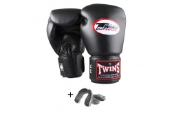 Twins BGN Gloves + Gel Bitje Black Transparent