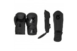 King Pro Boxing Set KIDS 3 - Black/Black