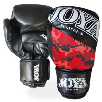 Joya ''Top One PU'' (kick)boxing Gloves - Red Camo