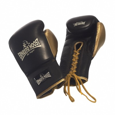 """Ernesto Hoost Professional Boxing Gloves """"Lace Closing"""""""
