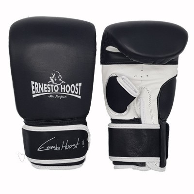 Ernesto Hoost Bag Gloves ''Special DDF'' Leather - Black/White