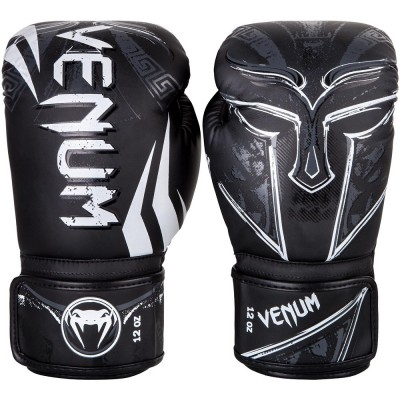 Venum Gladiator 3.0 (kick)Boxing Gloves- Black/White